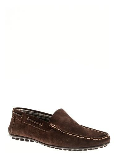 Cotton Bar Sentetik Makosen Erkek Ayakkabı Kahve
